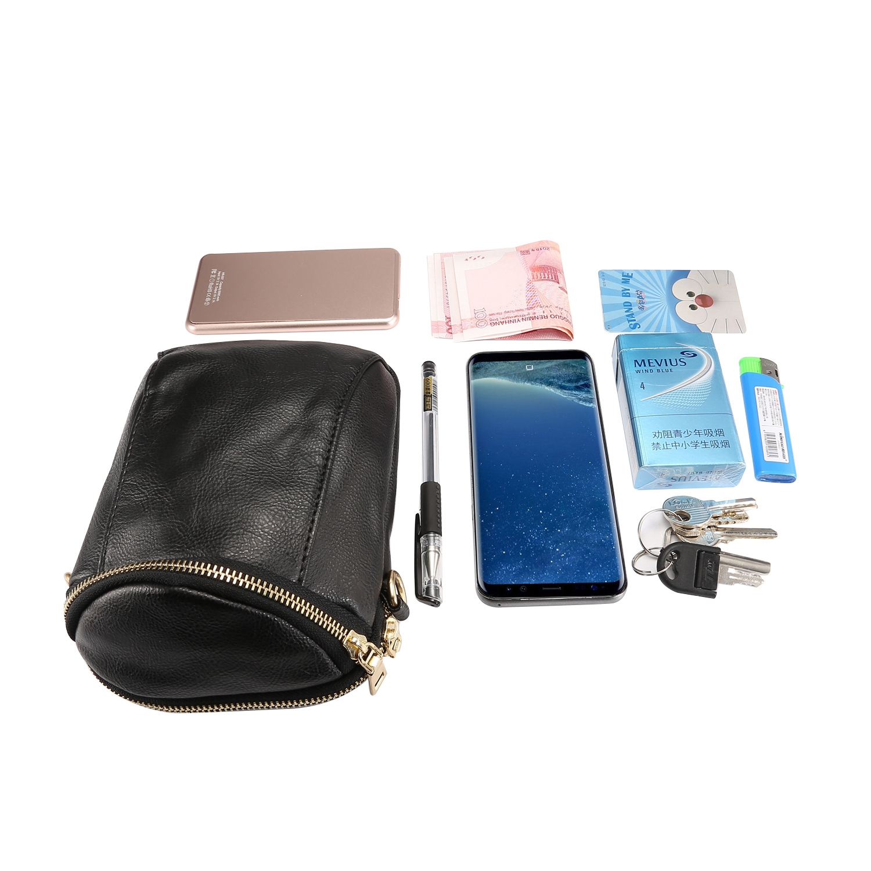 Universal-Handbag-Leather-Cell-Phone-Pocket-Purse-Shoulder-Bag-Pouch-Cover-Case
