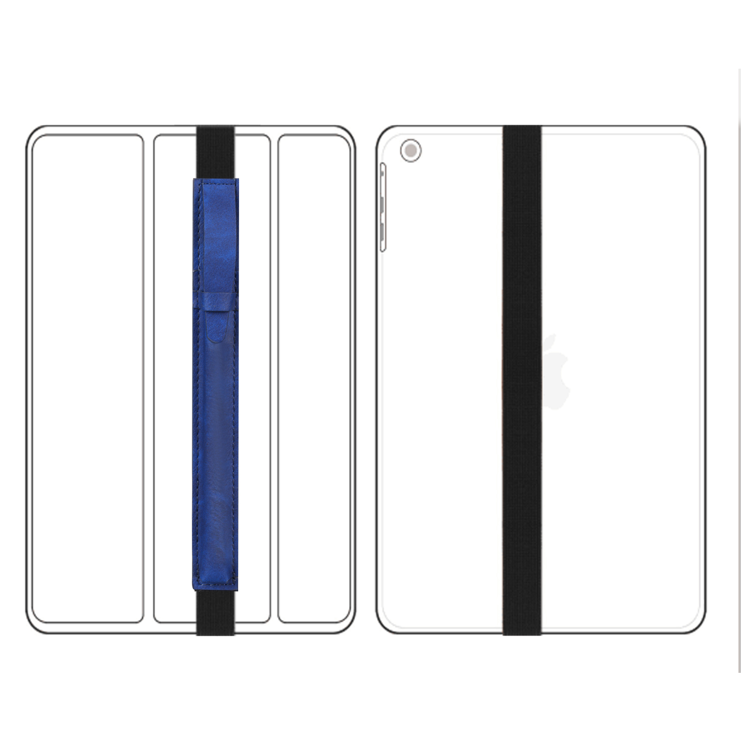 For-Apple-Pencil-Case-Leather-iPad-Pen-Cover-Sleeve-Pouch-Bag-Holder-Protector thumbnail 19