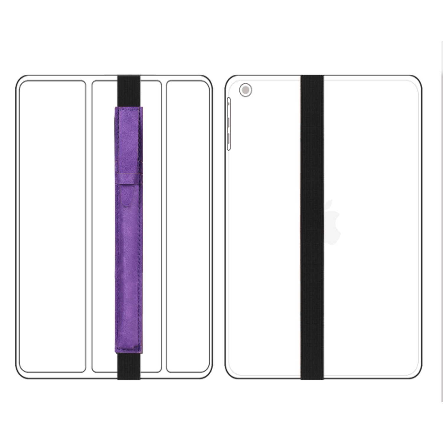 For-Apple-Pencil-Case-Leather-iPad-Pen-Cover-Sleeve-Pouch-Bag-Holder-Protector thumbnail 25