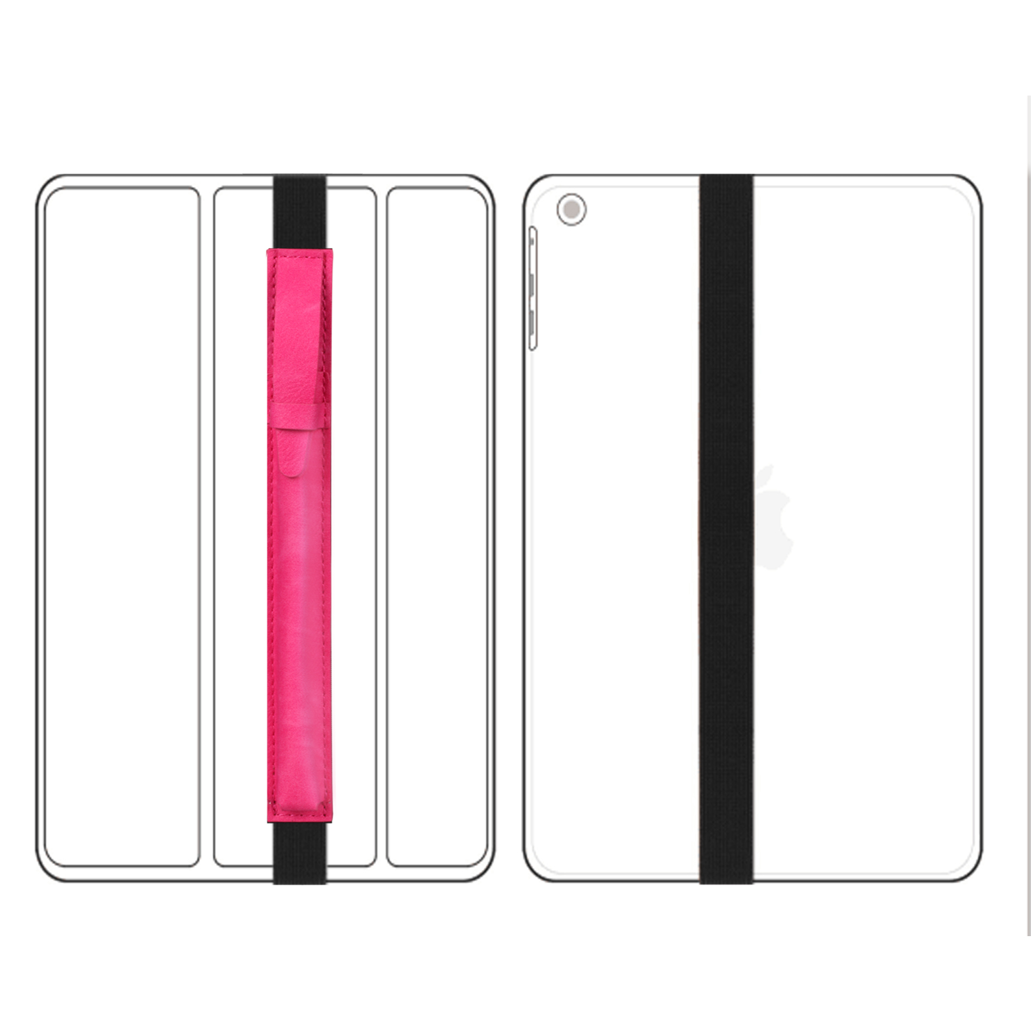For-Apple-Pencil-Case-Leather-iPad-Pen-Cover-Sleeve-Pouch-Bag-Holder-Protector thumbnail 37