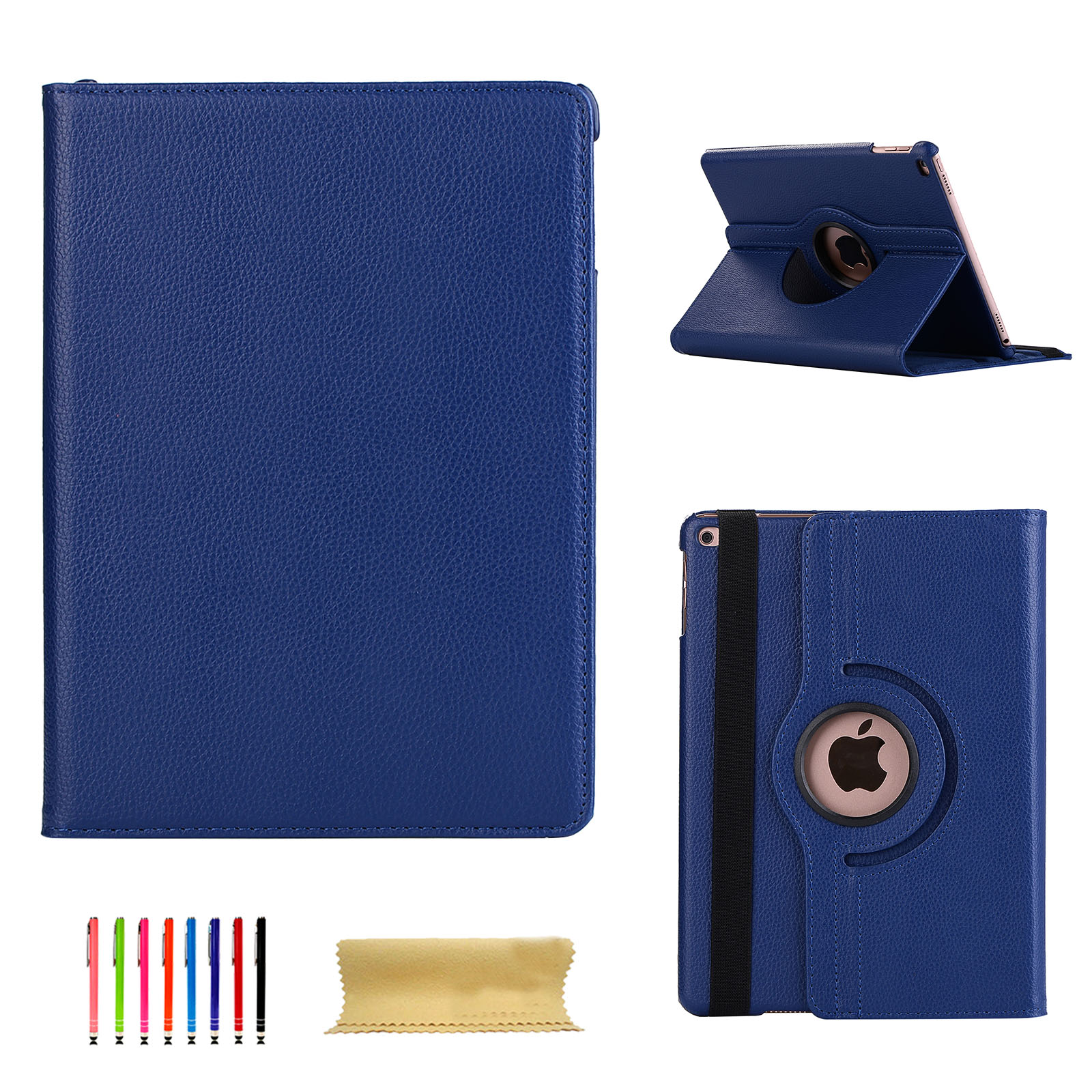 360-Leather-Rotating-Strap-Smart-Stand-Case-Cover-Fr-iPad-Air-Mini-Pro-9-7-10-5-034