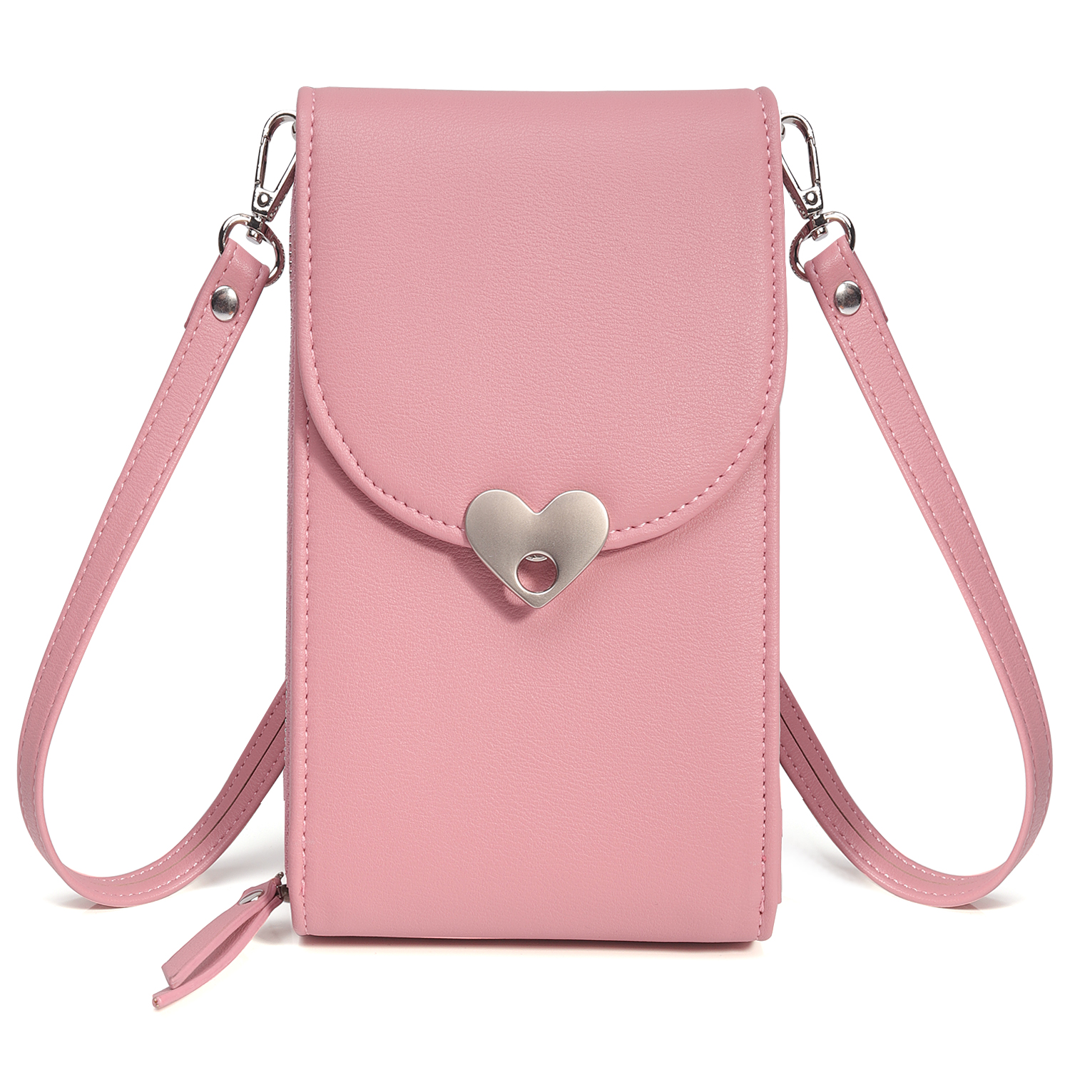 Crossbody-Shoulder-Bag-Cellphone-Pouch-Case-Leather-Cover-For-iPhone-X-Samsung