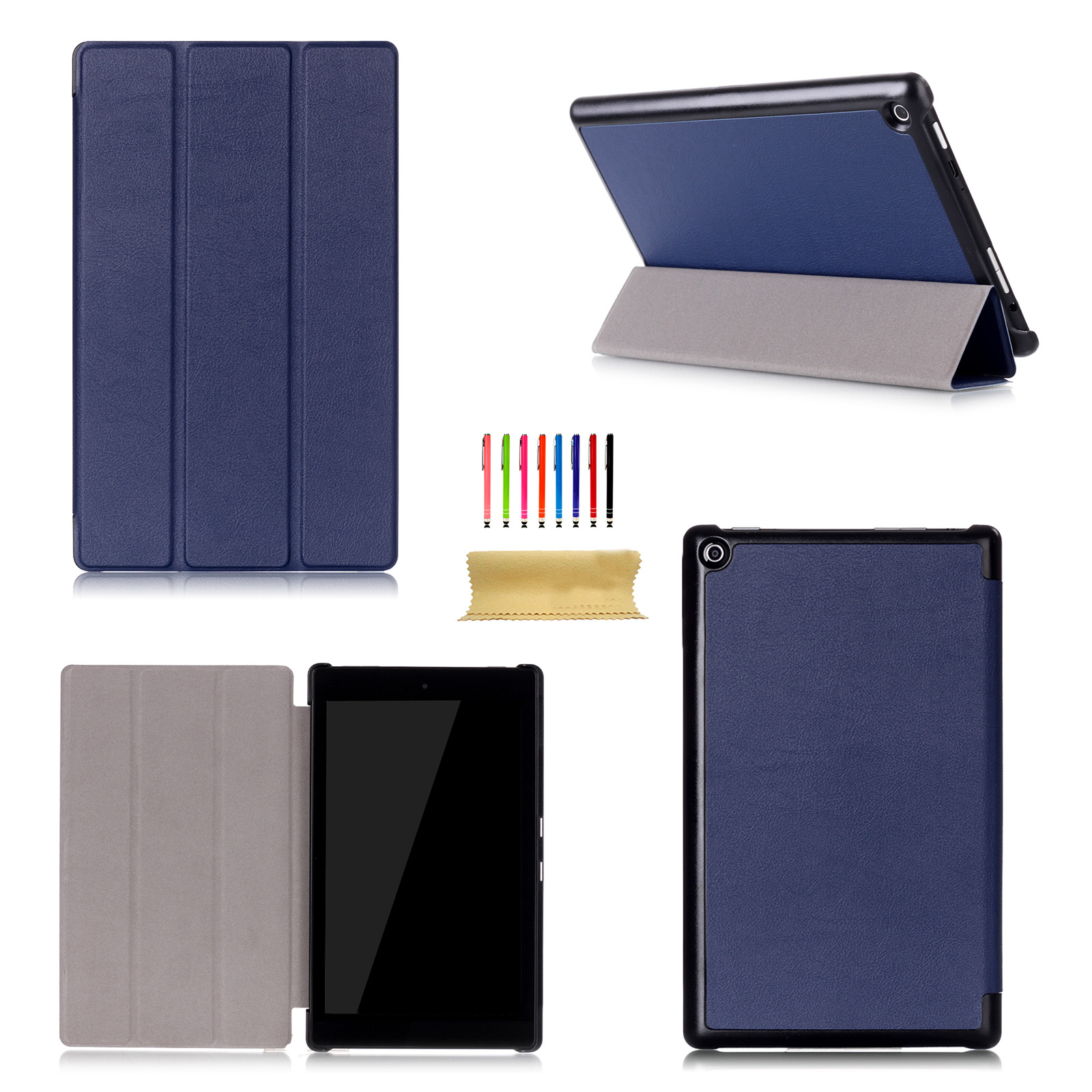 For amazon kindle fire hd 10 2017 10 1 inch flip leather for Amazon casa