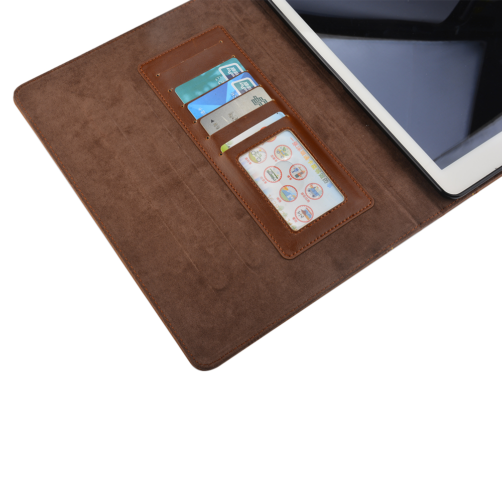Ipad Air Classic Book Cover : Classic retro vintage book case leather wallet cover for