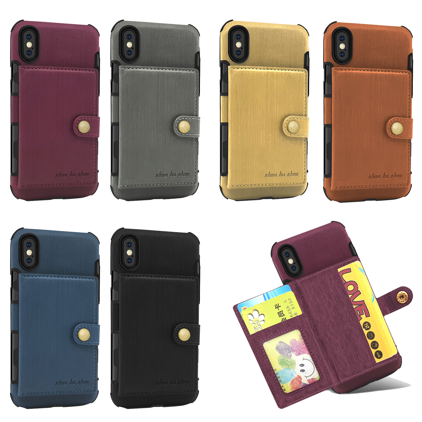 iphone xs phone case wallet